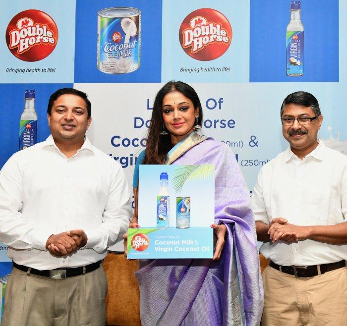 """Launch of Double Horse """"Coconut Milk & Virgin Coconut Oil"""" in"""